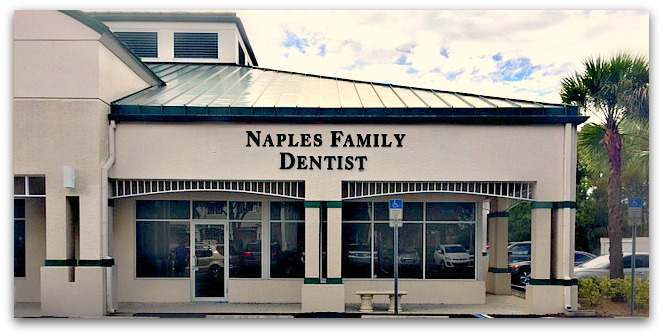 Naples Family Dentist office exterior